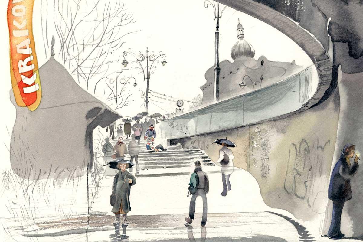 The-steps-of-Krakow